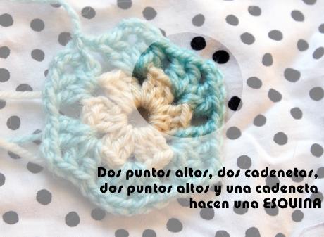 CÓMO TEJE un hexágono a crochet